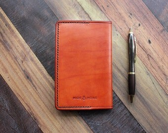 Pocket Leather Notebook Cover
