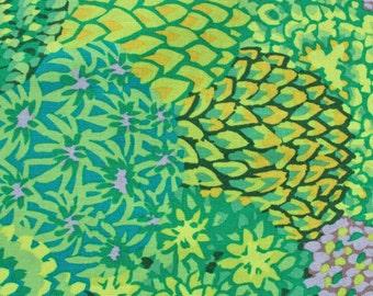 Item # PWGP129 Green Westminster Fibers Kaffe Fassett Collections. 1/2 Yard Cuts Sale Fabric.