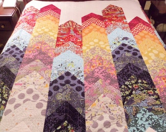 Abacus Queen-Sized Bed Quilt