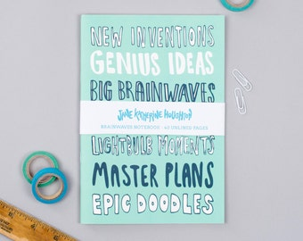 Brainwaves & Big Ideas Notebook