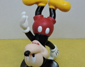 Nice 1990s Pose-able Mickey Mouse Vintage Figurine