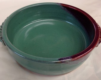 Handmade ceramic baking dish, individual baking dishes, brie baker, pie plate