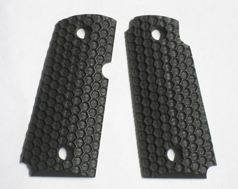 DURAGRIPS - Kimber Micro Carry .380 Grips - WASP NEST - Black