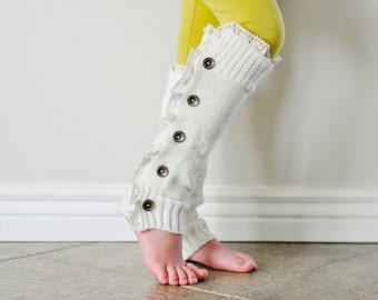Mini Sophie Little girls Leg Warmers.