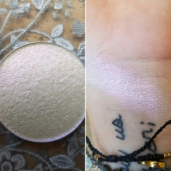 Persephone - Iridescent Violet Pressed Highlighter, Mineral Highlighter, Mineral Makeup, 44mm or 37mm Pan