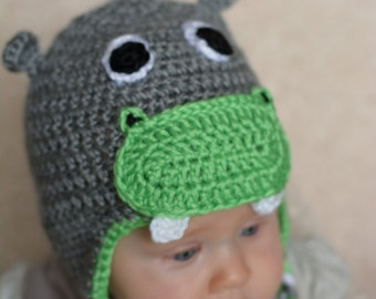 Soft Hippo Hat