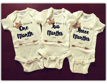 Month to month onesies (1-3 months)