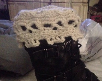 Skull Boot Cuffs