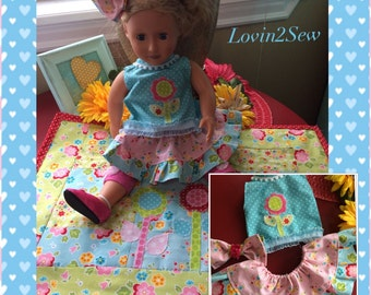 Sweet and Sassy Dress and quilt