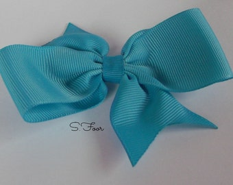Aqua Basic Boutique Bow