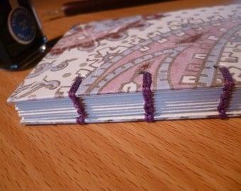 Hand-bound notebook/sketchbook/journal, A7, Coptic bound