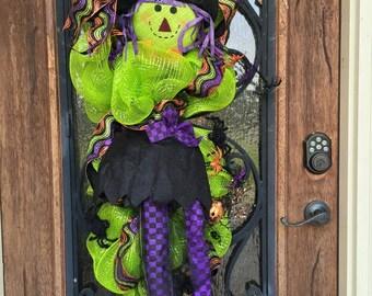 Witch Door Wreath