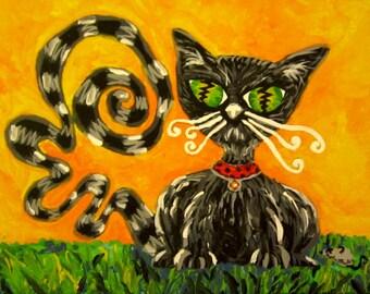 Rocko Knows - Original Acrylic Painting