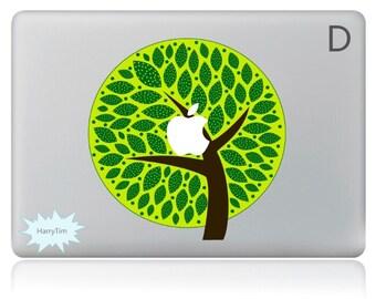New tree mac stickers Macbook decal macbook stickers apple decal mac decal four seasons stickers 03
