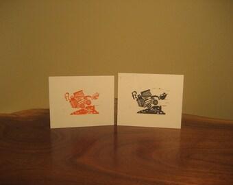 Mini Skidsteer Print