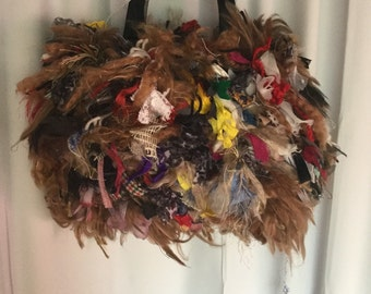 Up Cycled Women's Hand Bag,Designer,One Of A Kind