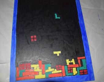 Tetris painting