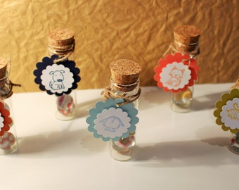 PaperPollys Glass Push Pins