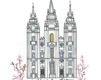 Custom temple