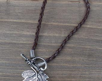 """7"""" Leaf Bracelet"""