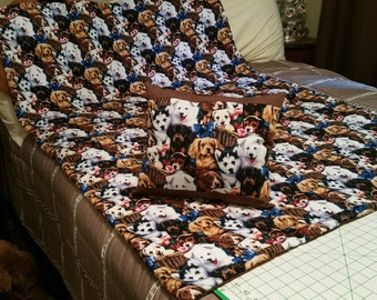 Puppy Crib Comforter Set