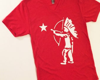Tootsie Pop Indian Star T-Shirt {Adults} Red