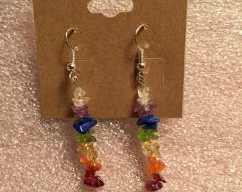 Chakra Dangle Earrings