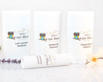 All Natural Deodorant Sticks-An all-natural deodorant in a stick