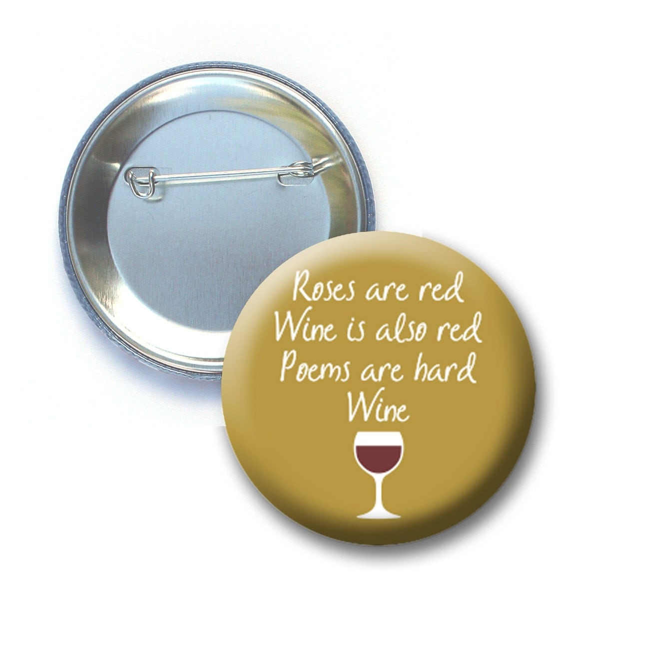 Funny wine button or keychain bottle opener by buttondelidotcom - Funny wine openers ...