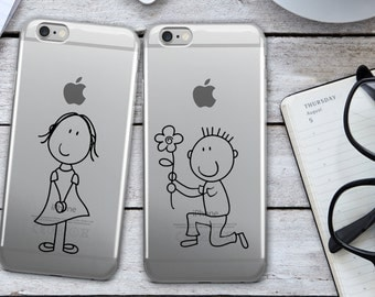 Mr. and Mrs. iPhone 6 Case - Matching iPhone Cases - Mr. and Mrs. iPhone 6 Case - Funny iPhone Case - Couples - Cell Phone Case - Set of 2