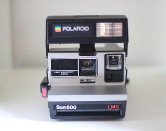 Tested Polaroid Sun600 LMS Light Management System Instant Film Camera