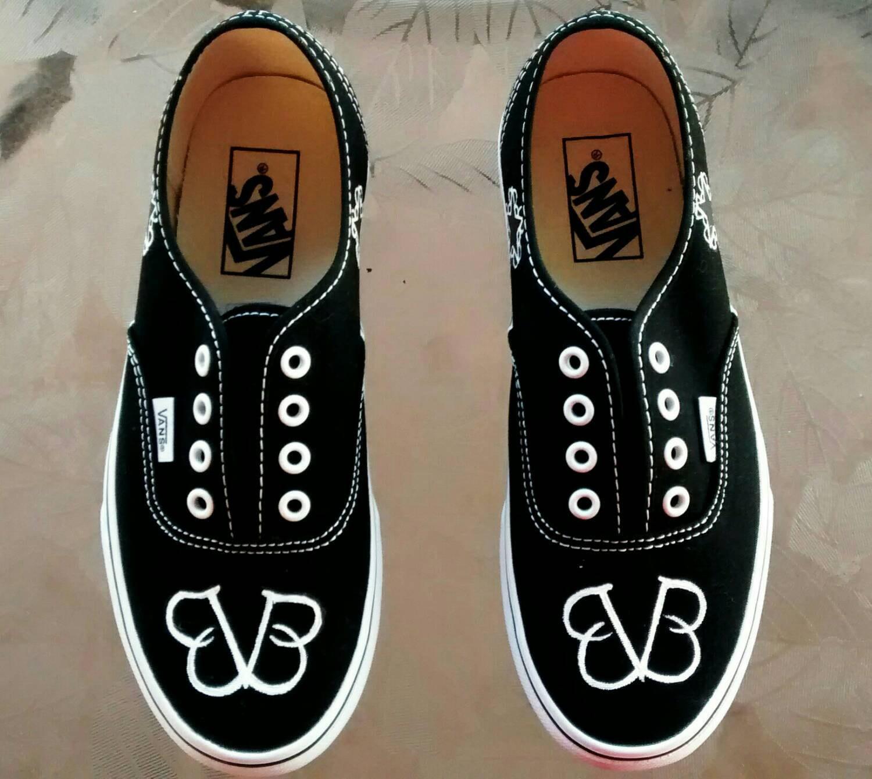 black veil brides custom made shoes