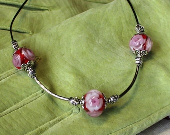 Flower Necklace with roses