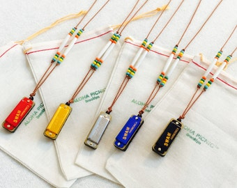 Mini Harmonica Necklace