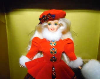 Jewel Princess Barbie Doll Limited Edition Winter Princess Collection