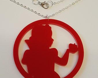Poison Apple Princess Fairytale Necklace - Acrylic