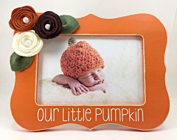 Baby Gifts For Halloween : Gift for baby s first halloween our little pumpkin