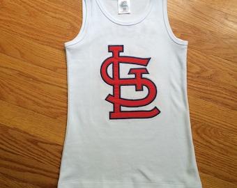 STL Cardinal Logo Girls Bodysuit/T Shirt/Tank