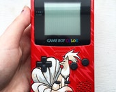 Custom Gameboy color! Pokemon, ninetails inspired
