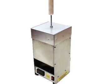 Metal melting kiln 33-oz (1000 gr) pure gold crucible
