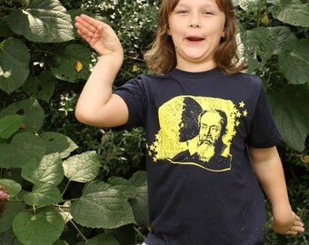 Galileo Toddler Tee, T-shirt, astronomy, physics, renaissance, moon, quote shirt, stars, telescope, nerd, science, STEM, children, girl, boy