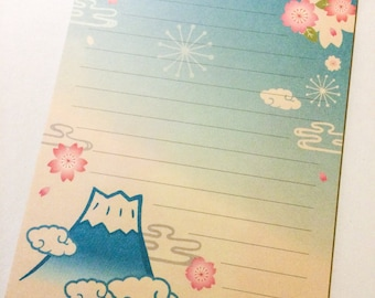 Japanese Letter Paper - Glorious Fuji