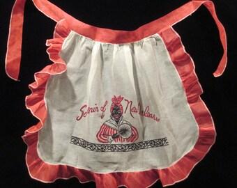 1950's New Orleans souvenir Apron