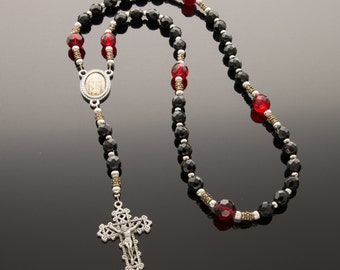 Holy Face Chaplet, Prayer Beads, Religious Gift