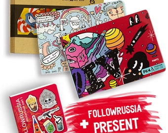 4 Sticker Books
