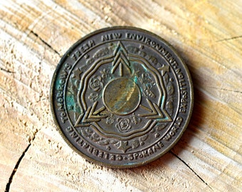 Spokane Washington World's Fair Advertising Souvenir Token Coin Trade Dollar 1974 Washington World  Fair