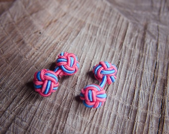 Chinese Knot Cufflinks ~2 pieces #100385