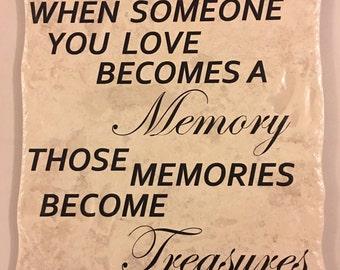 Treasured Memory Tile
