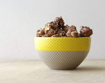 popcorn, Dark Chocolate Sea Salt gourmet popcorn by Gopo