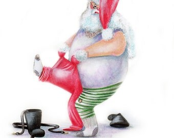 Skinny Jeans - Funny Christmas Card